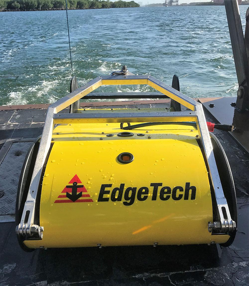 3400: Portable Sub-bottom Profiler - EdgeTech