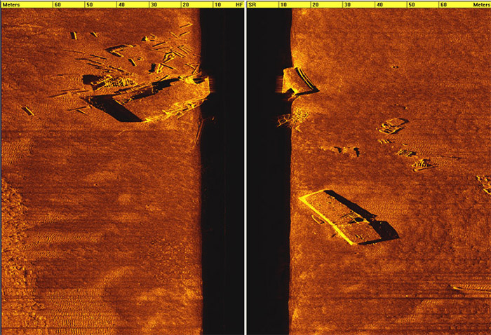 4200 barges and debris scan image